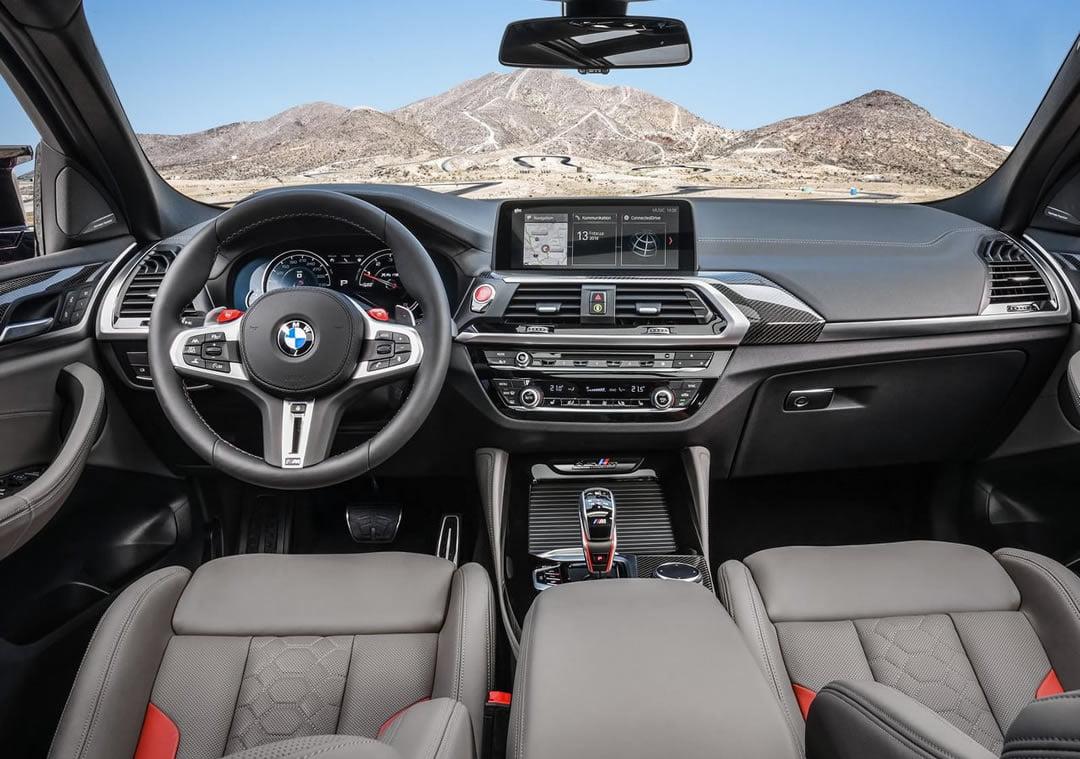 2020 Yeni BMW X4 M Competition Kokpiti