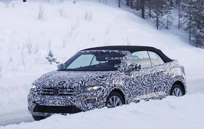 2020 Yeni Volkswagen T-Roc Cabriolet