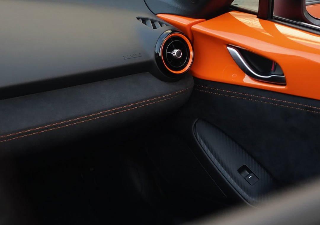30. Yıla Özel Mazda MX-5 İçi