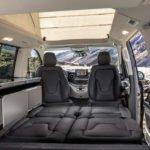 Makyajlı Mercedes-Benz V Serisi içi