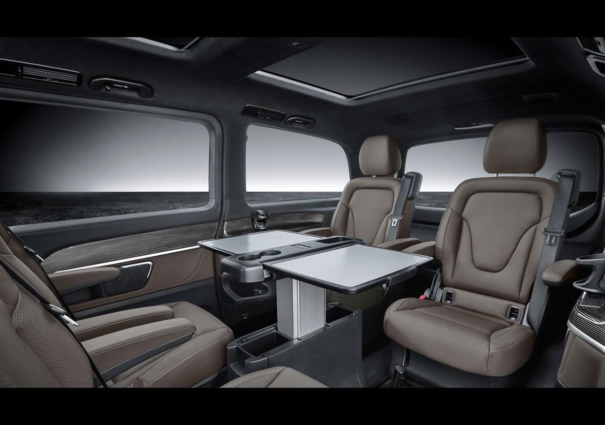 Makyajlı Mercedes-Benz V Serisi Donanımları