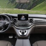 Makyajlı Mercedes-Benz V-Serisi İçi