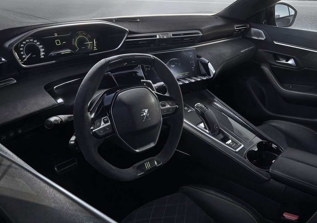 2019 Peugeot 508 Sport Engineered Kokpiti