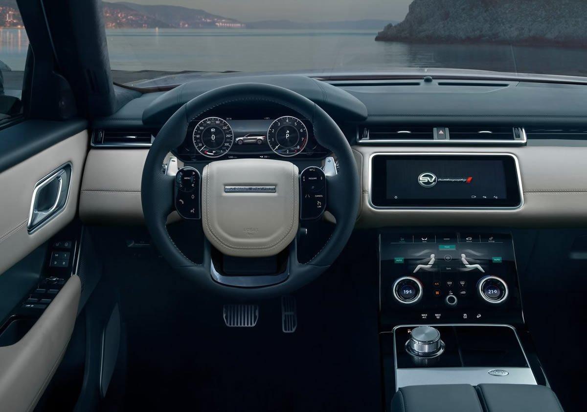 Range Rover Velar SVAutobiography Dynamic Edition Kokpiti