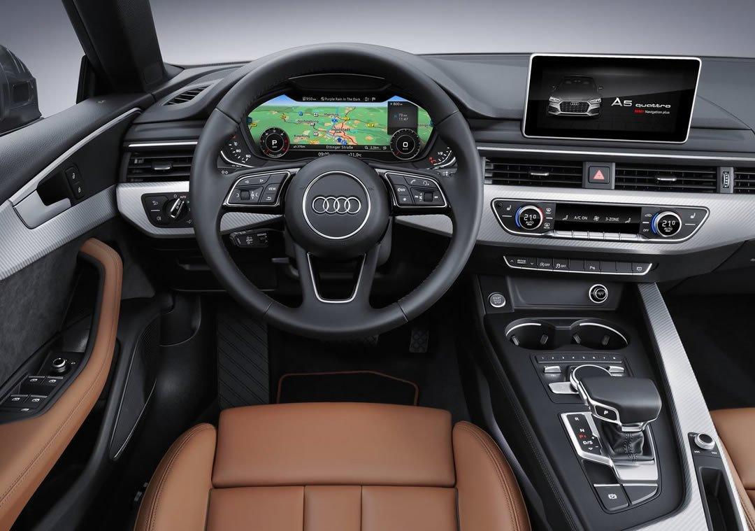 2019 Model Audi A5 Sportback Kokpiti