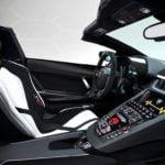 Yeni Lamborghini Aventador SVJ Roadster İçi