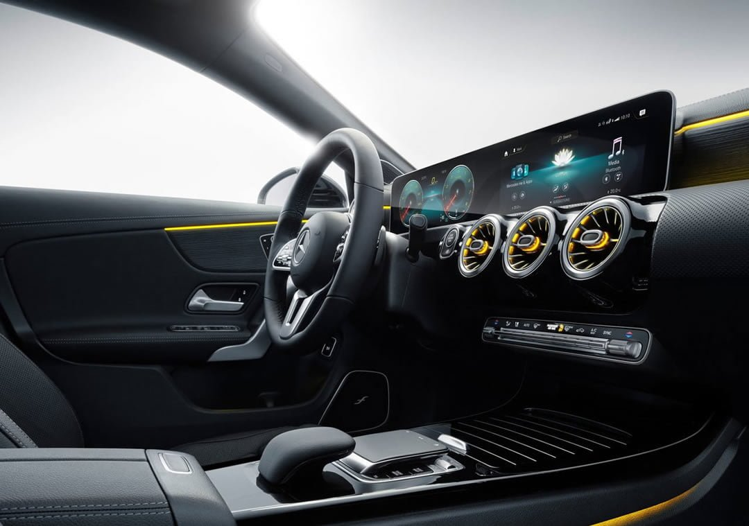 2020 Yeni Mercedes-Benz CLA Shooting Brake İçi