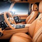 Brabus 2019 Mercedes-AMG G63 İçi