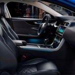 Makyajlı 2020 Jaguar XE İçi