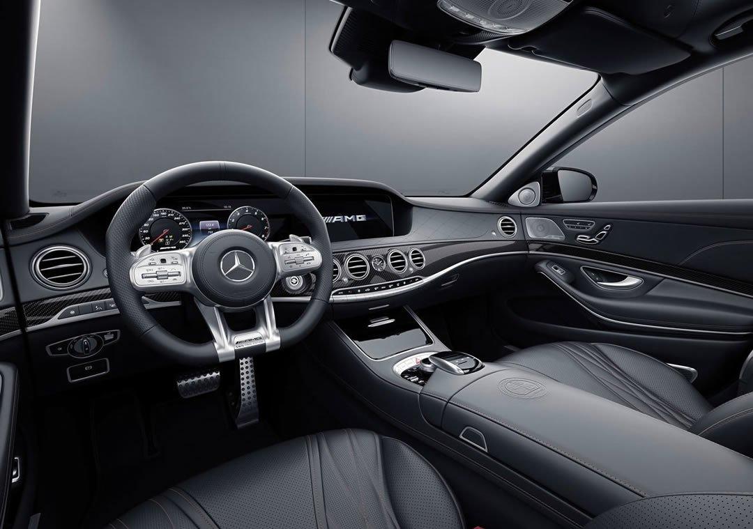 2019 Yeni Mercedes-Benz S65 AMG Final Edition Kokpiti