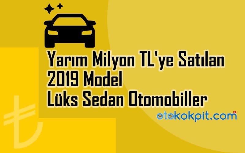 2019 Model Lüks Sedan Otomobiller