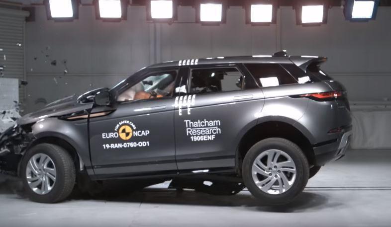 2019 Range Rover Evoque Euro NCAP