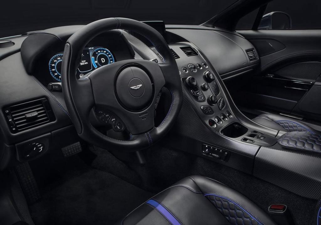 2020 Aston Martin Rapide E Kokpiti