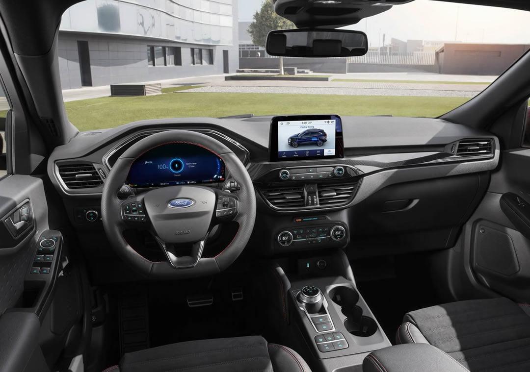 2020 Yeni Kasa Ford Kuga Kokpiti