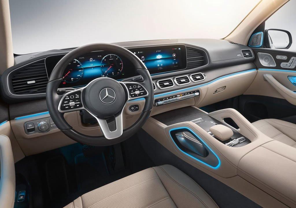 2020 Mercedes-Benz GLS Kokpiti