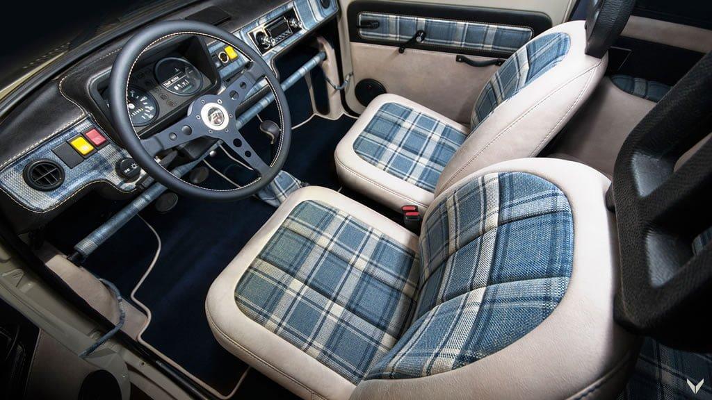 Vilner 1990 Trabant 1.1 İçi