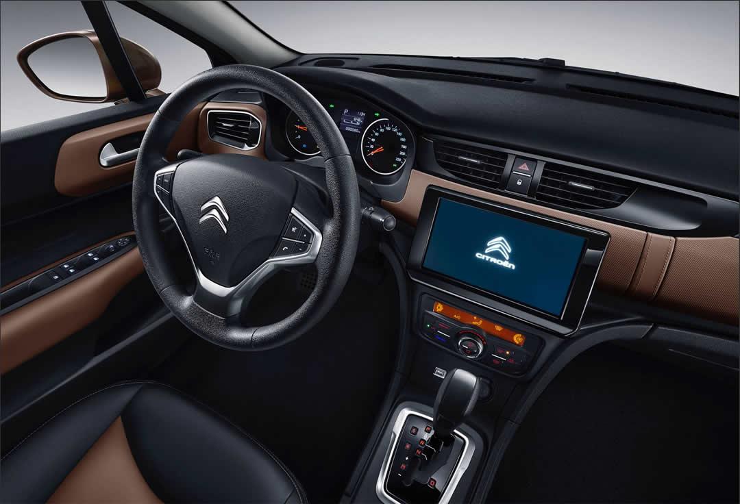 2019 Yeni Citroen C4 L Sedan Kokpiti