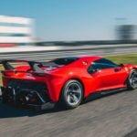 Ferrari P80-C 0-100 km/s