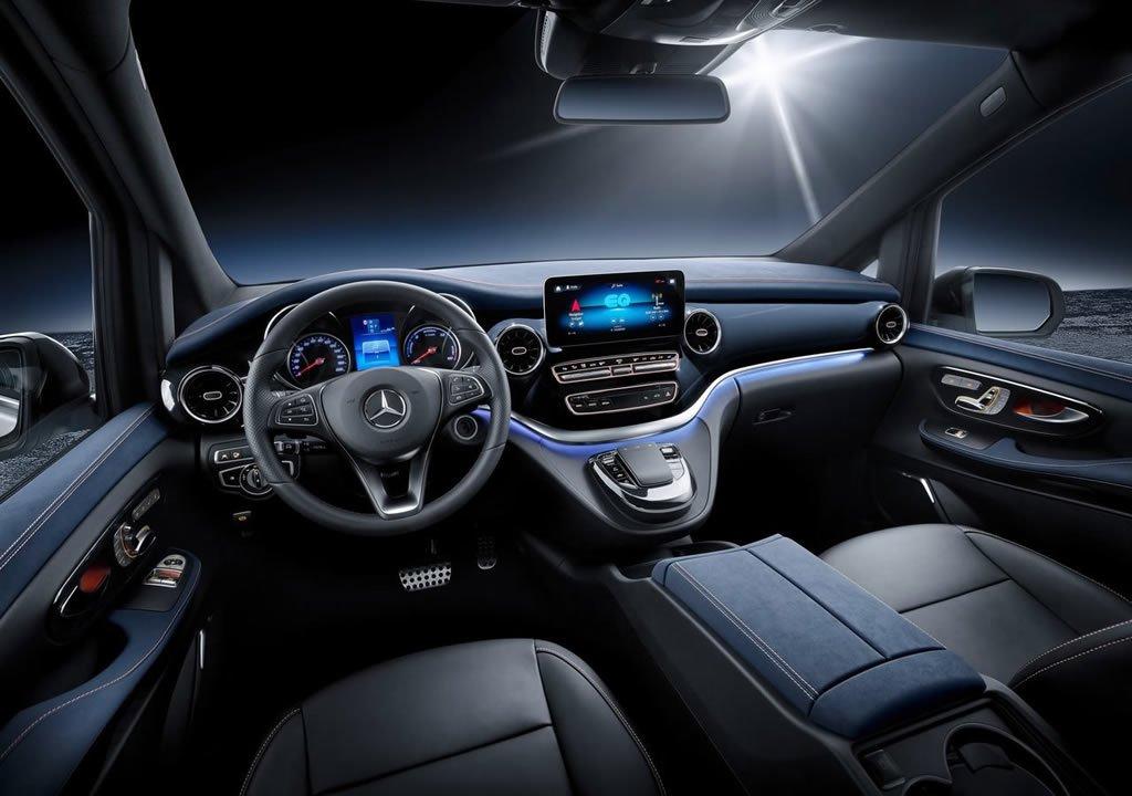 2019 Mercedes-Benz EQV Kokpiti