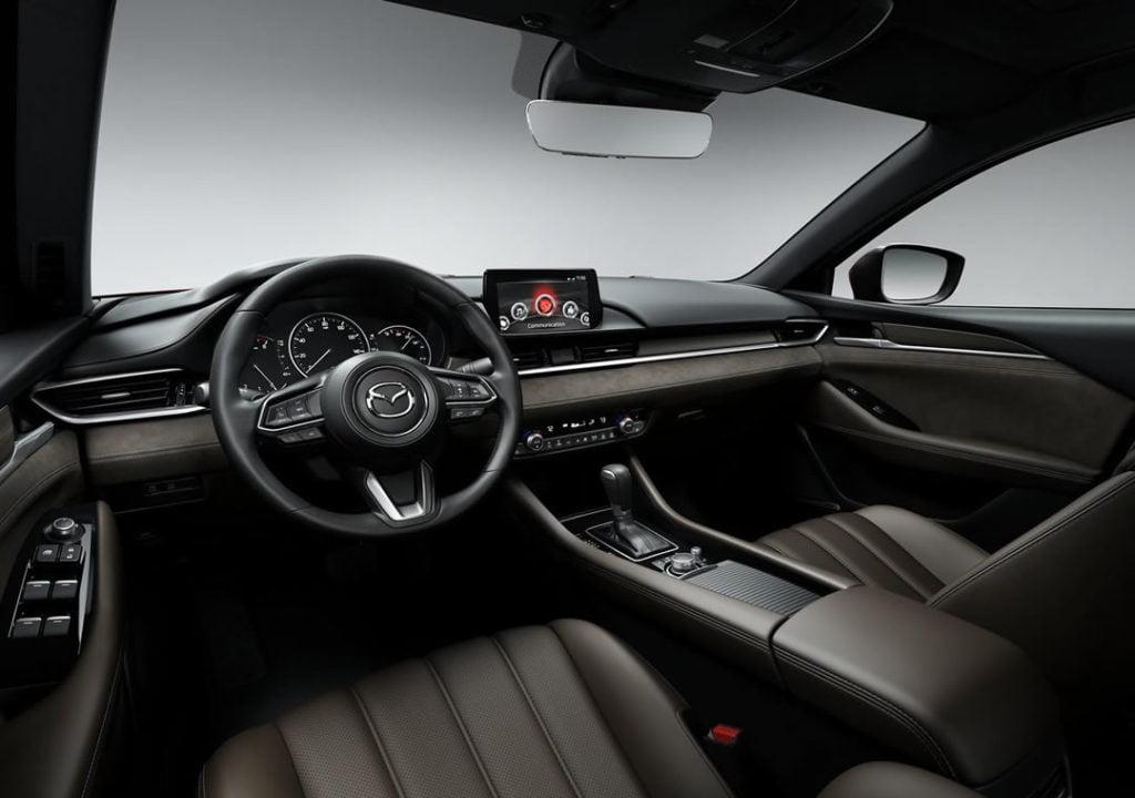 2019 Model Mazda 6 Kokpiti