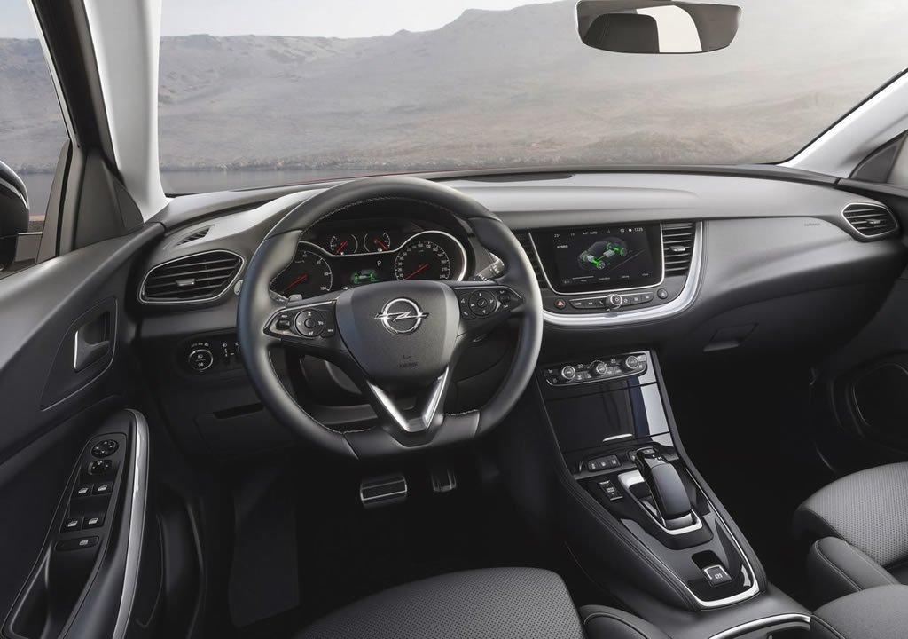 2019 Opel Grandland X Hybrid4 Kokpiti