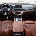 2020 Yeni BMW 745Le Kokpiti
