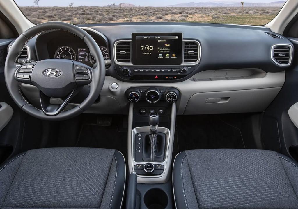 2020 Yeni Hyundai Venue Kokpiti