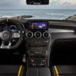 2020 Yeni Mercedes-AMG GLC 63 S Coupe Kokpiti