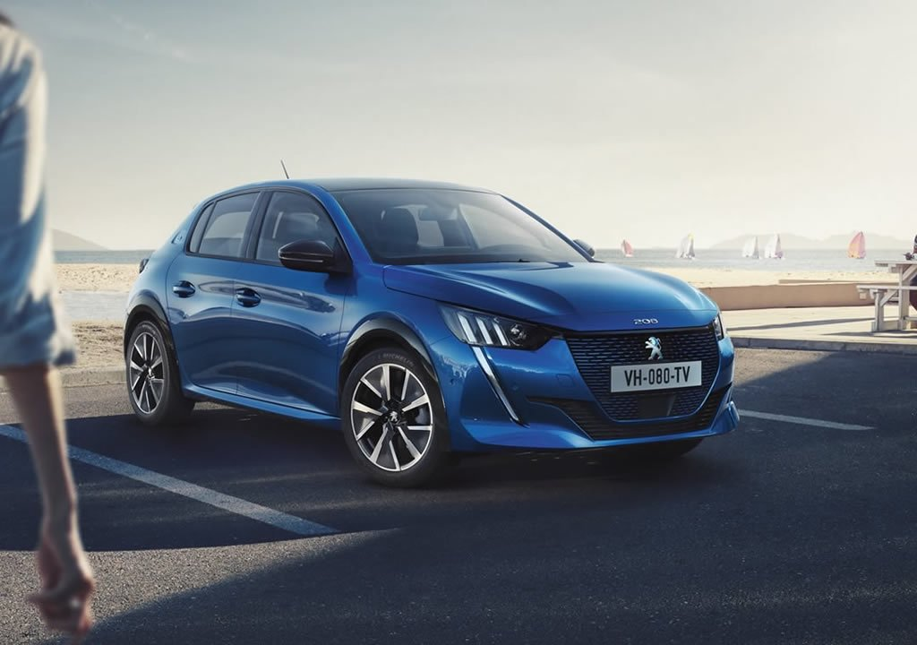 2020 Yeni Peugeot e-208