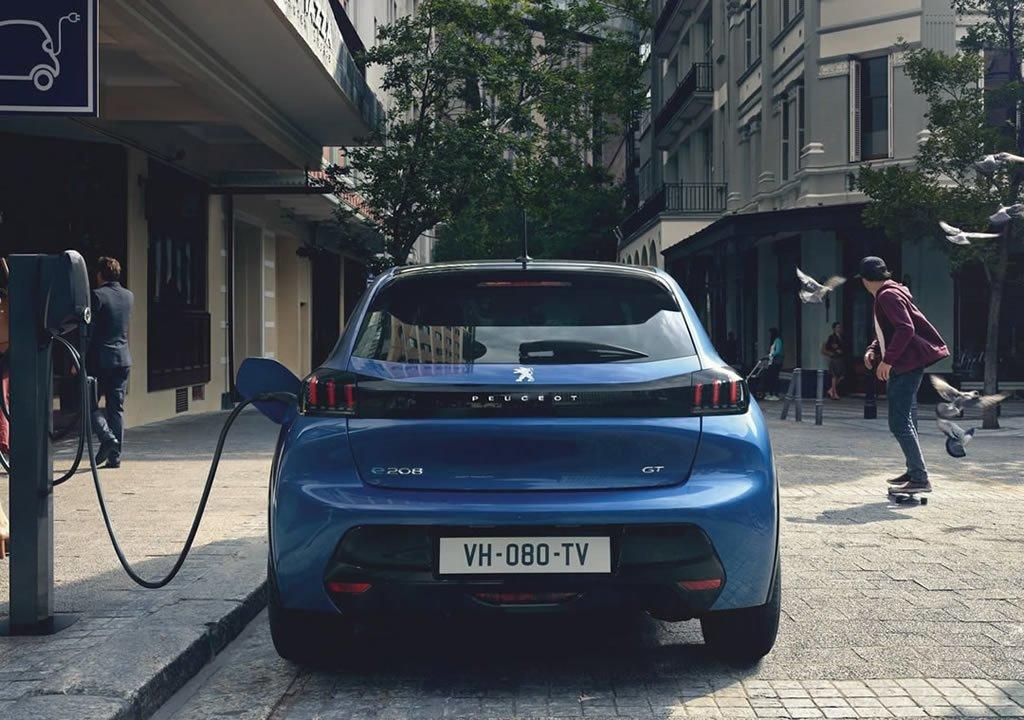 2020 Yeni Peugeot e-208 Şarj Süresi