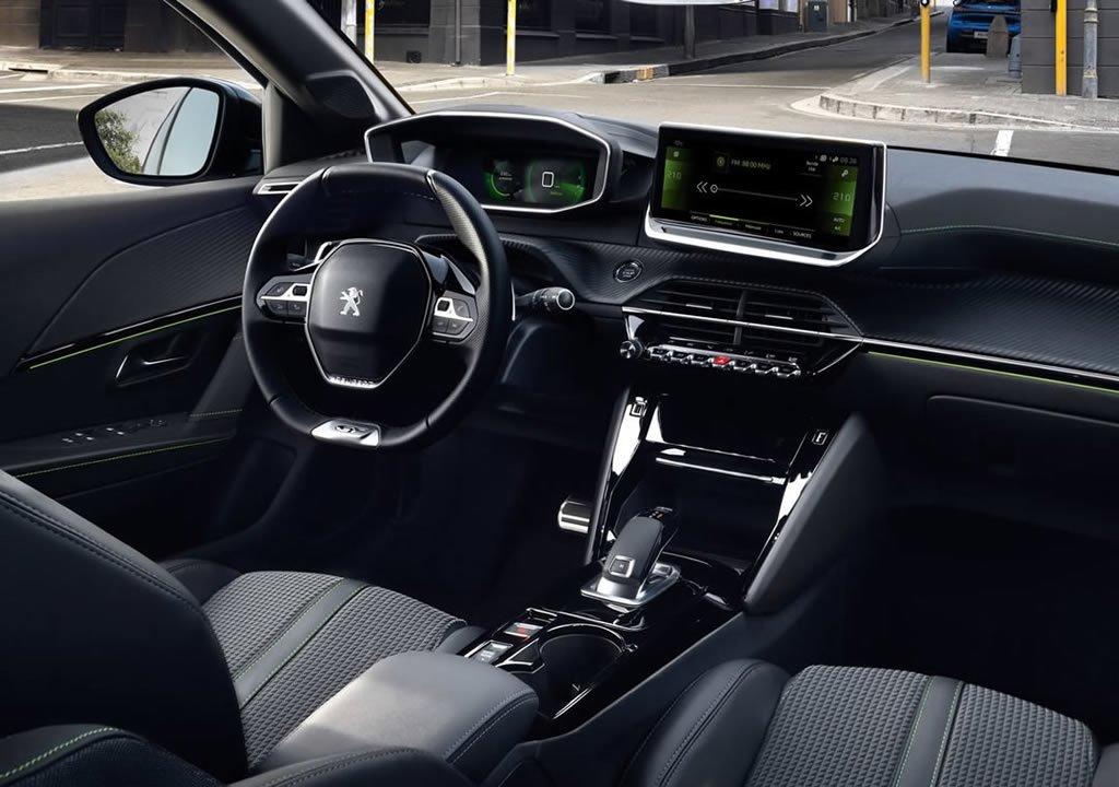 2020 Yeni Peugeot e-208 Kokpiti