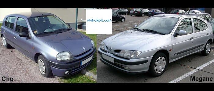 Renault Clio ve Megane