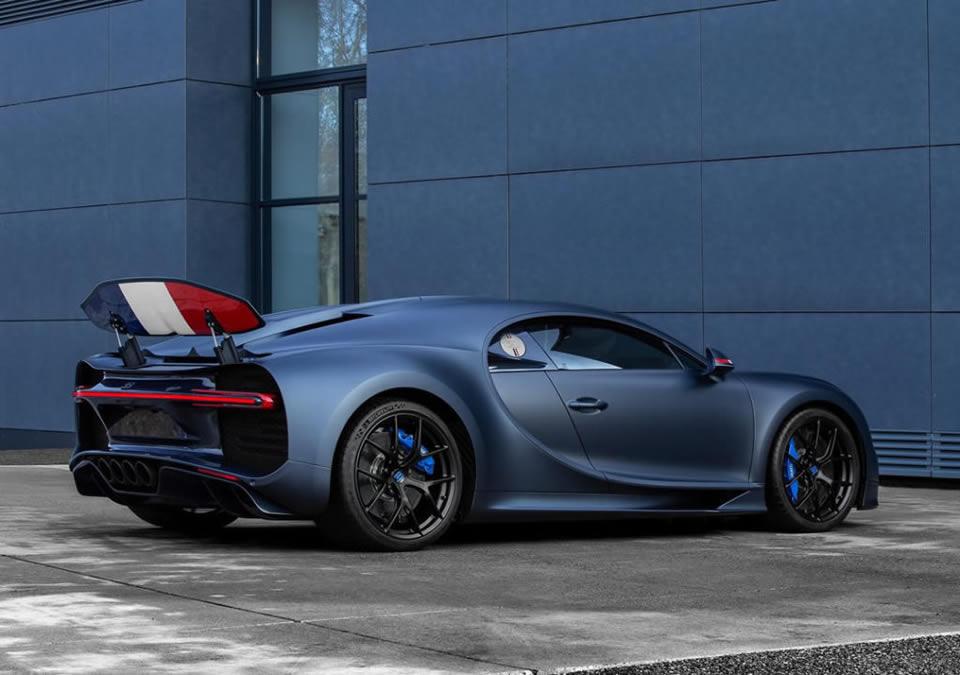 Bugatti Chiron Sport 110 ans Bugatti Özellikleri
