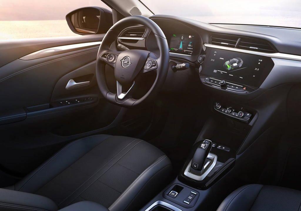 Elektrikli 2020 Opel Corsa-e Kokpiti