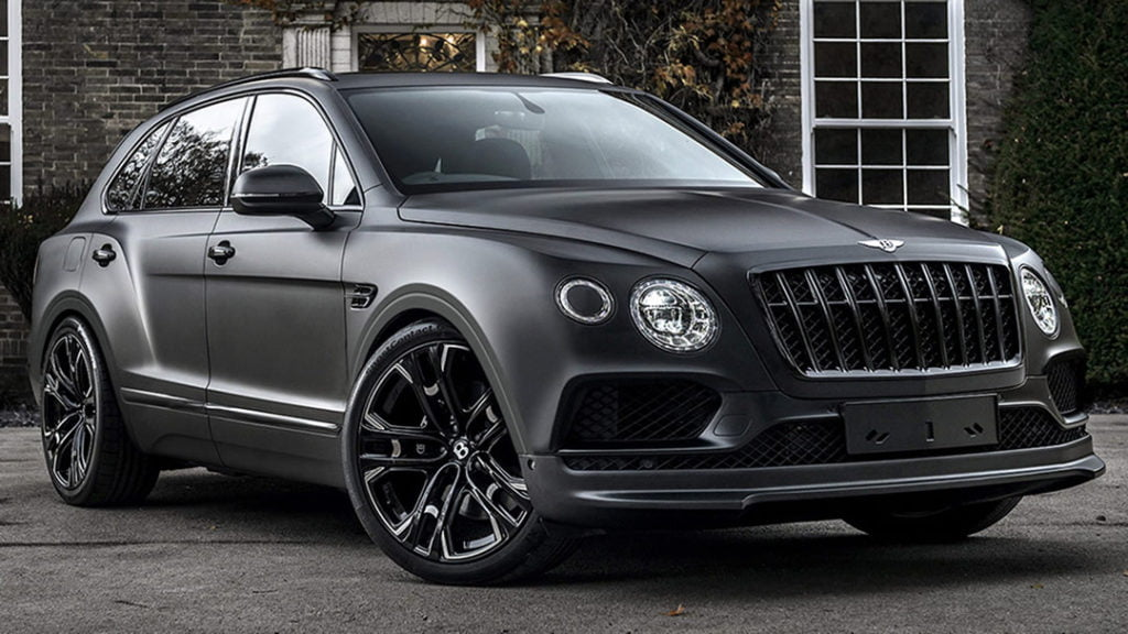 Kahn Design 2019 Bentley Bentayga Centenary Edition