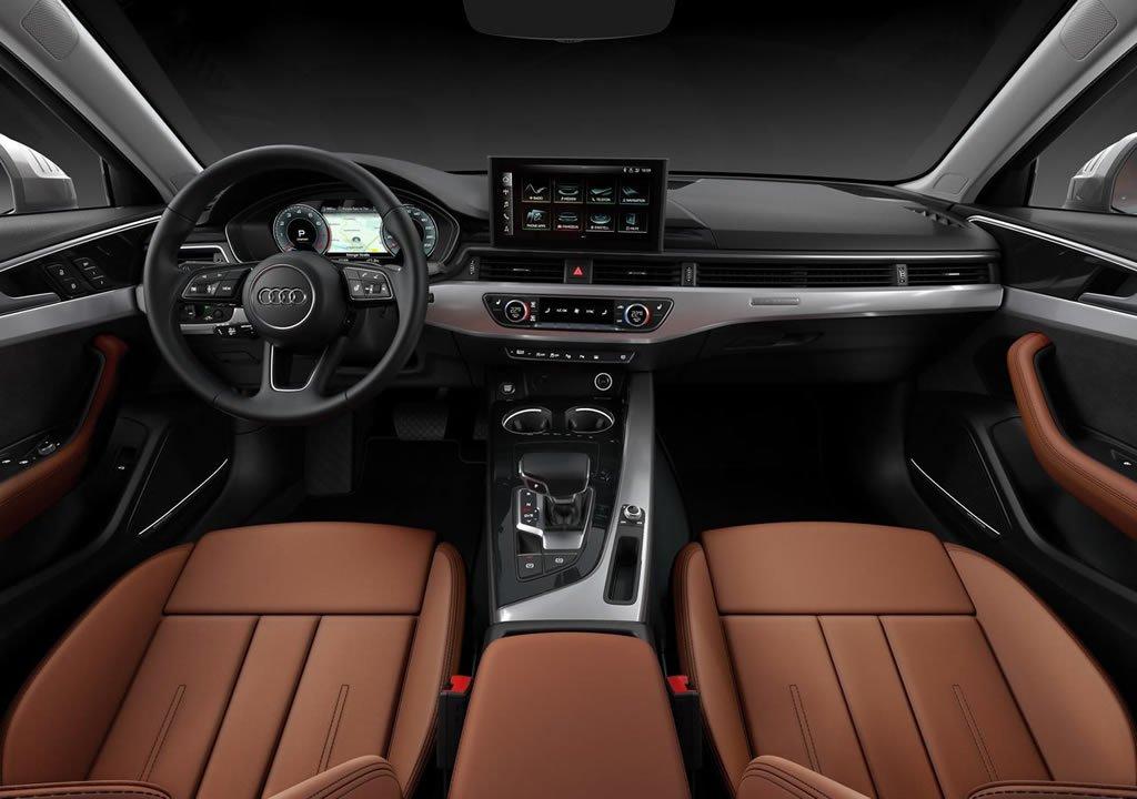 Makyajlı 2020 Audi A4 Kokpiti