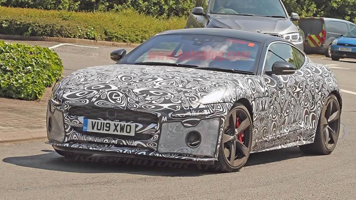 Makyajlı 2021 Jaguar F-Type