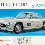 Mercedes-Benz 300SL Gullwing Donanımları