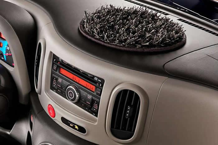 Nissan Cube: Shag Dash Topper