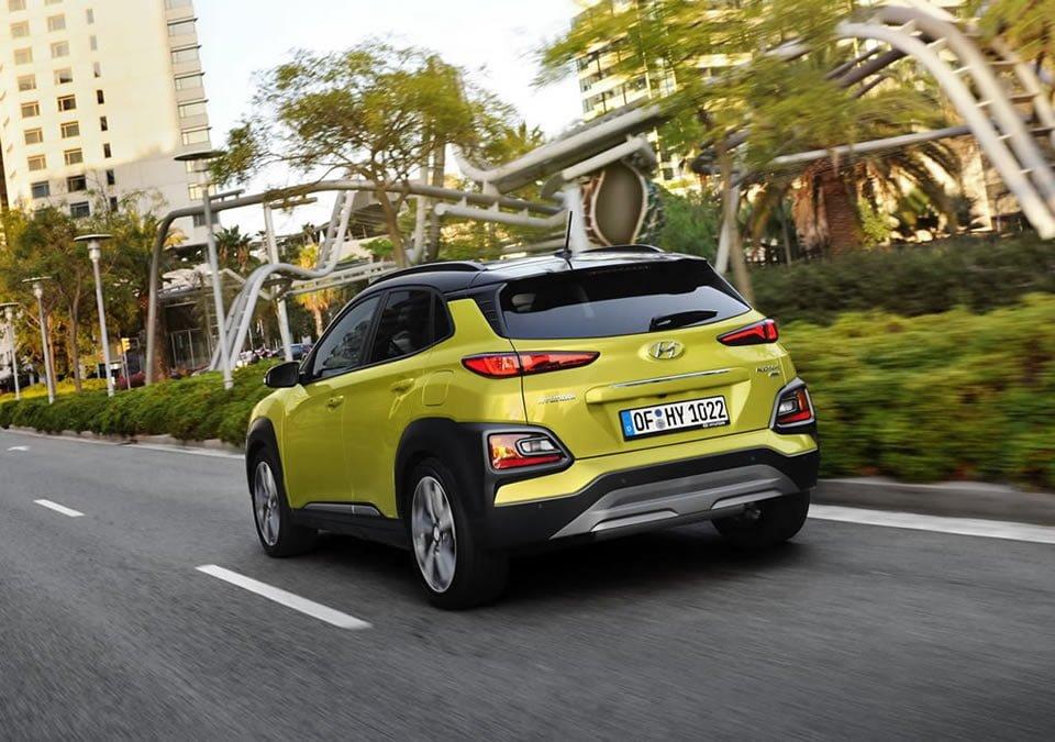 Hyundai Kona 1.6 Dizel Donanımları