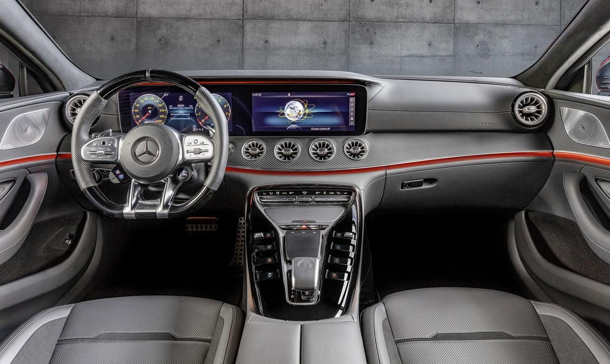 Yeni Mercedes-AMG GT 4 Kapılı Coupe Donanımları