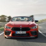 BMW M8 Competition Convertible 0-100 km/s