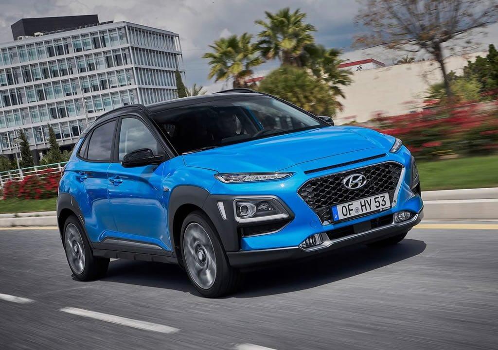 2020 Hyundai Kona Hybrid Menzili