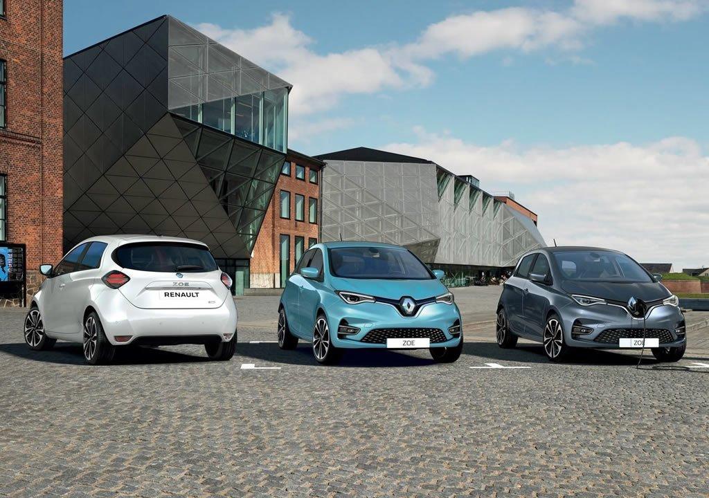 2020 Yeni Renault Zoe Menzili