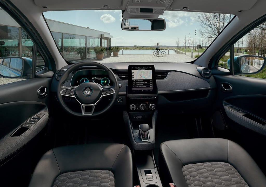 2020 Yeni Renault Zoe Kokpiti