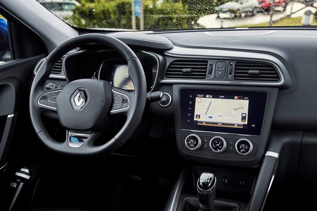 Makyajlı 2019 Renault Kadjar Kokpiti