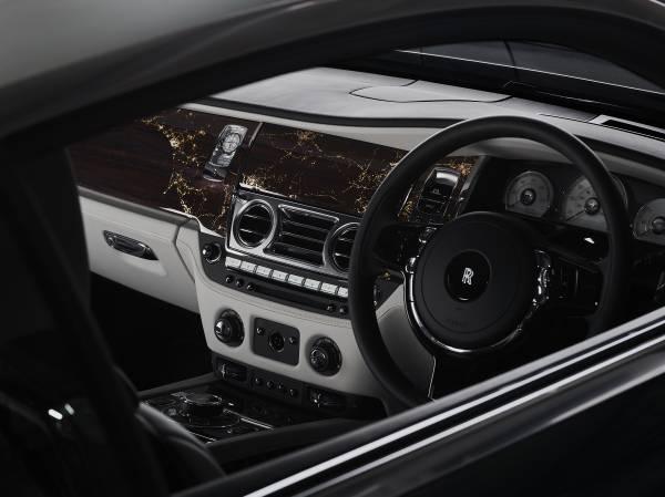 Rolls-Royce Wraith Eagle VIII Kokpiti