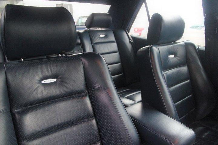 Mercedes E 60 AMG 0-100 km/s