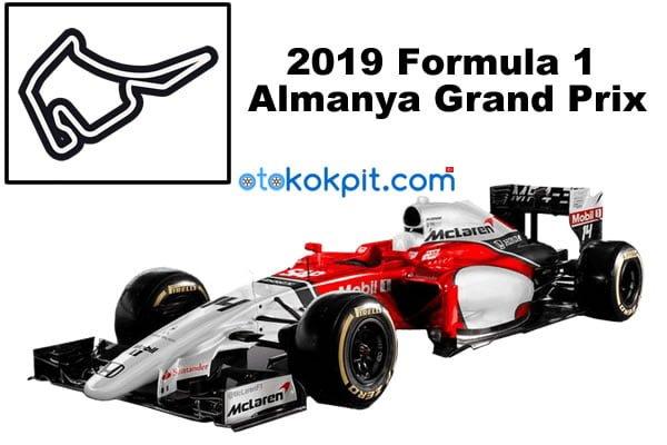 2019 Formula 1 Almanya Grand Prix Hangi Gün