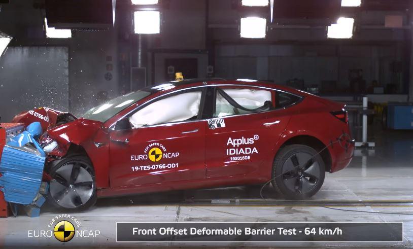2019 Tesla Model 3 Euro NCAP